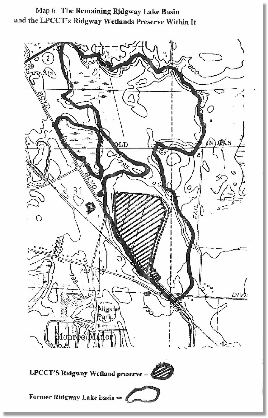 Remaining Ridgway Lake Basin and LPCCT Preserve